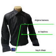 Gömlek Düğmesi Kamera