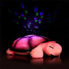 Projeksiyonlu Renk Değiştiren Gece Lambası Kaplumbağa