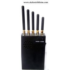 Taşınabilir Jammer 5 Anten