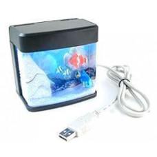 Usb Mini Akvaryum Led Işıklı